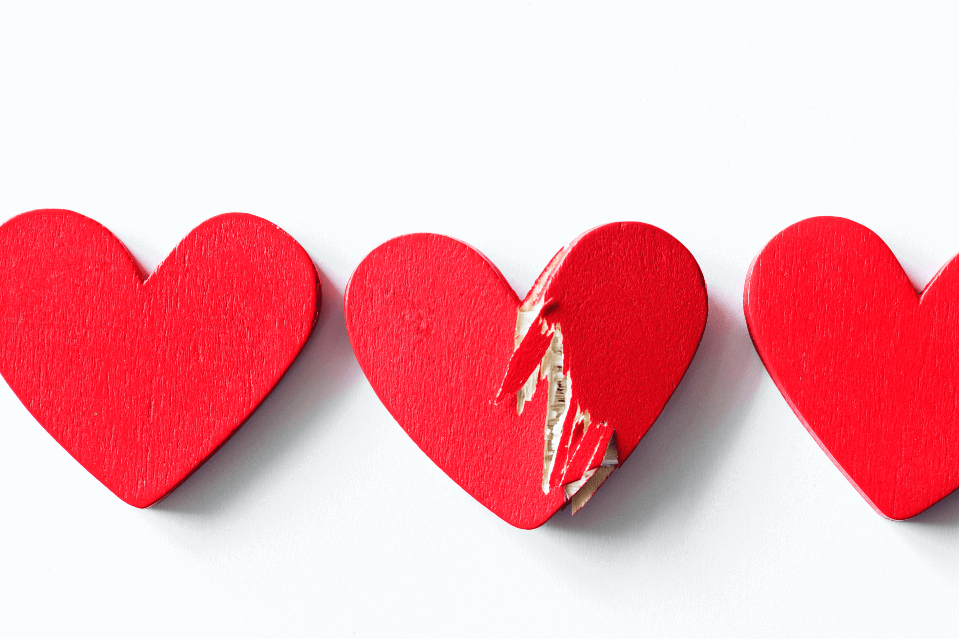This image shows a heart made of wood that broken and portrays the importance of marketing and communication for successful fundraising