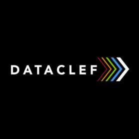 Dataclef brand identity, naming, and visual identity design