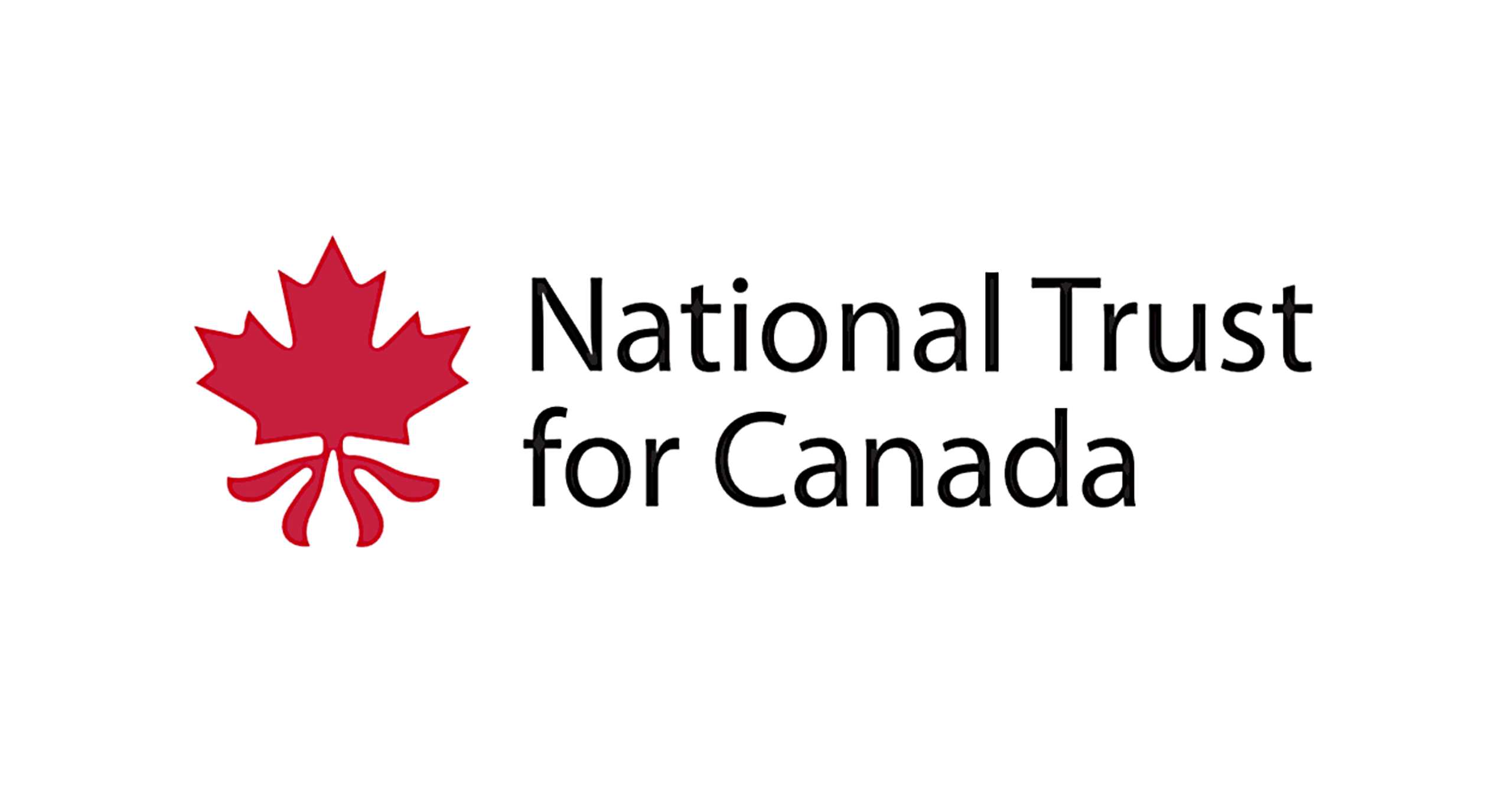 National Trust for Canada logo design