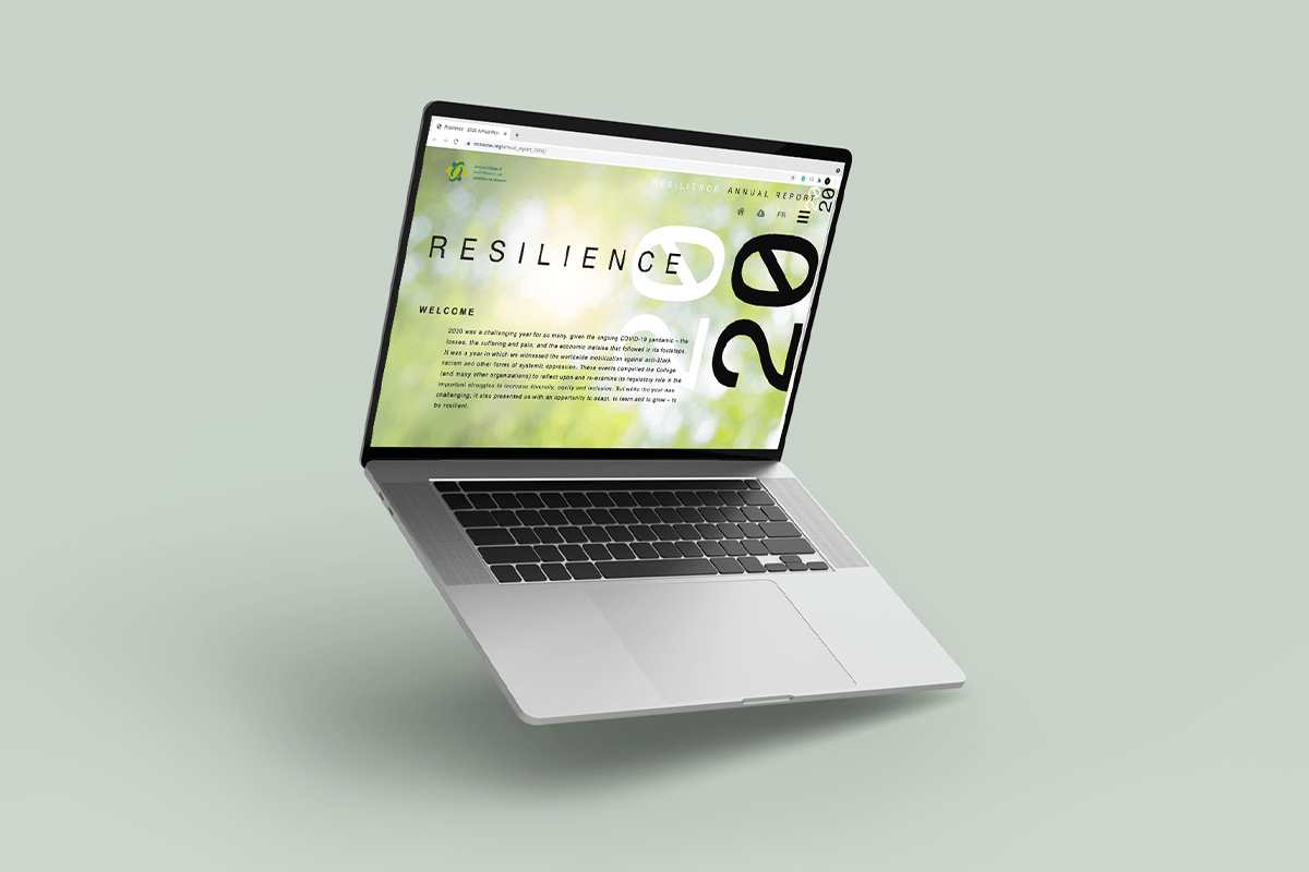Annual Report Microsite Design – 5 Stars Review on Clutch