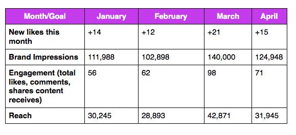 Sample Social Media Data Set