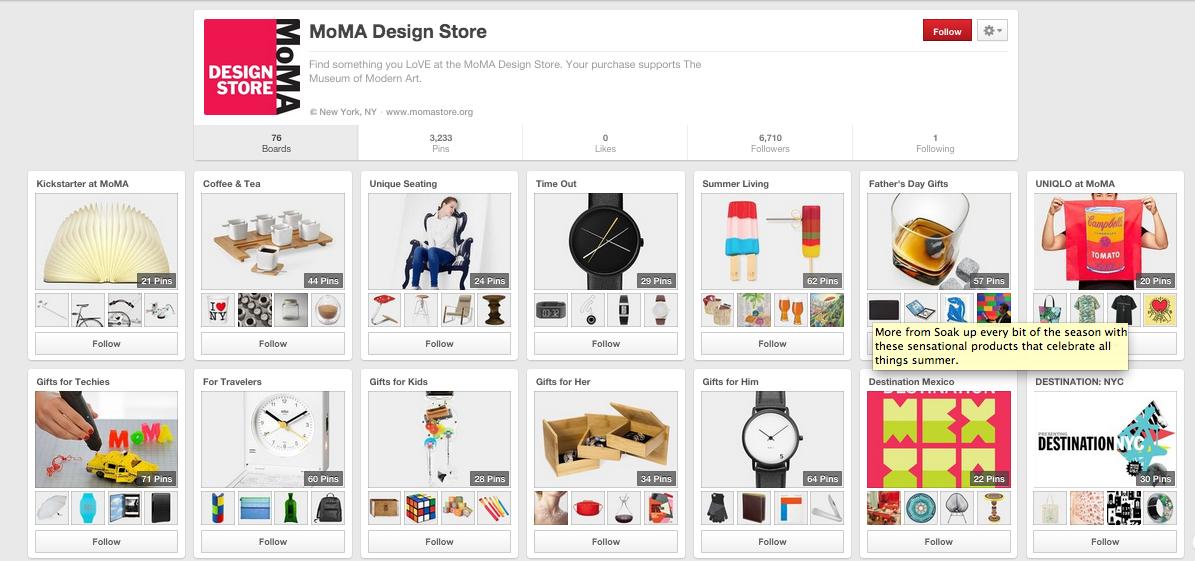 moma design store pinterest