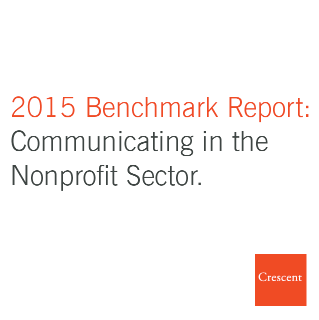 2015 Benchmark Report | Communicating in the Nonprofit Sector