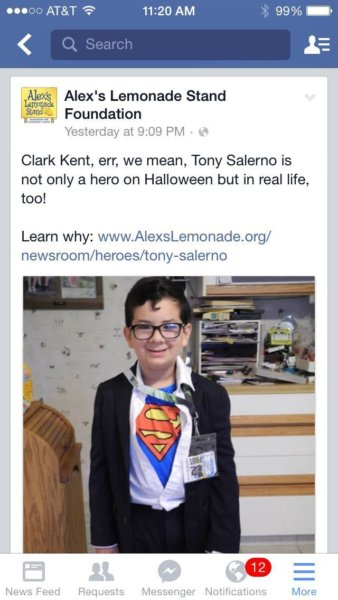 Alex's Lemonade Stand praises fundraisers on Facebook