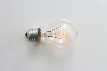 This image shows a lightbulb to illustrate the importance of non-profit best practices and trends