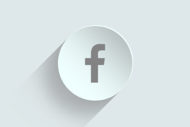 this image portrays Facebook icon abd represents the importance of social media for nonprofit year-end fundraising