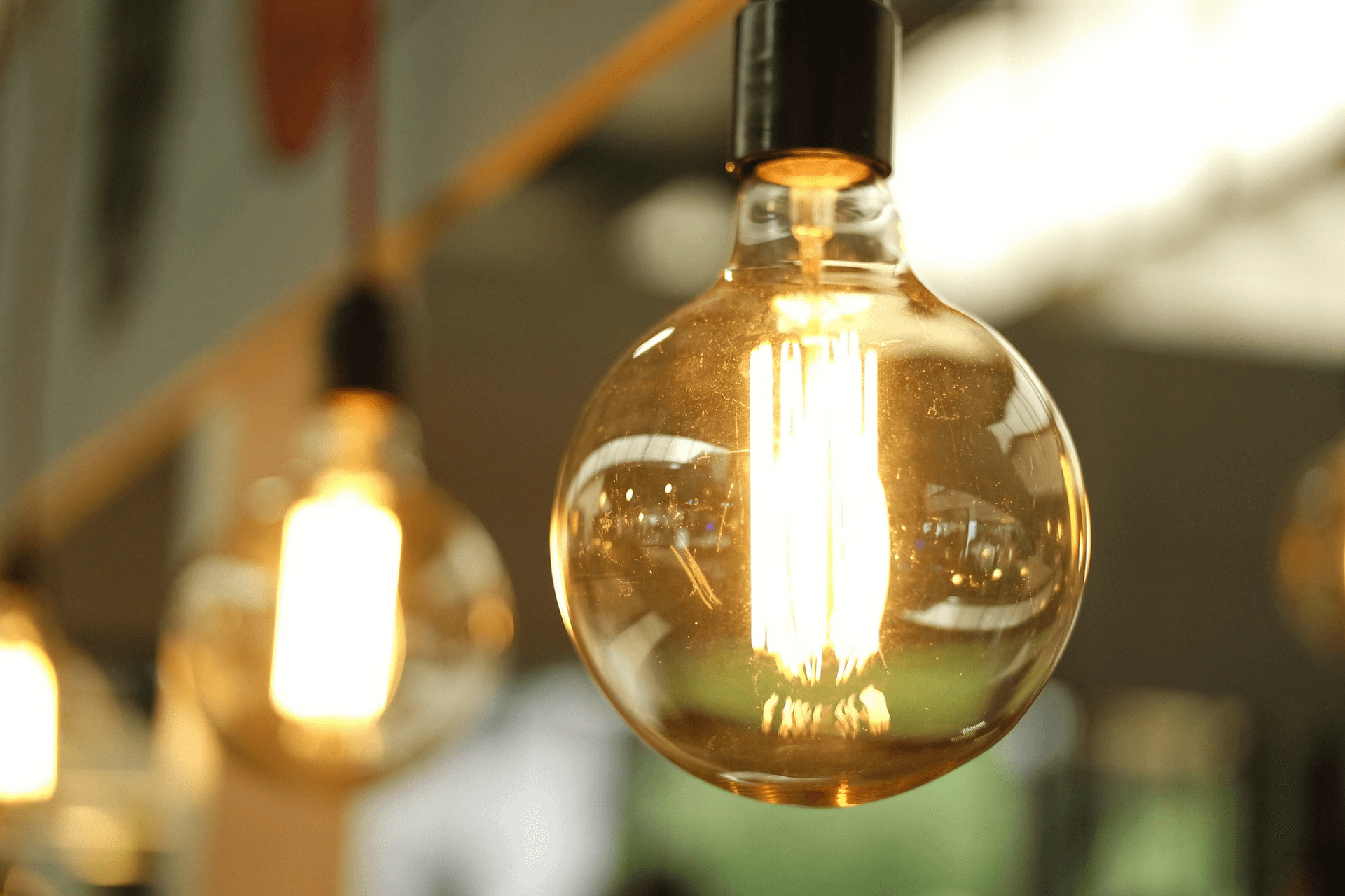 this picture depicts a light bulb representing the importance of creative design for nonprofit fundraising
