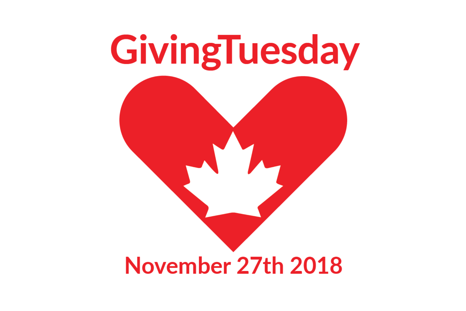 this image shows the Giving Tuesday Logo to showcase the importance of branding and marketing for year-end fundraising