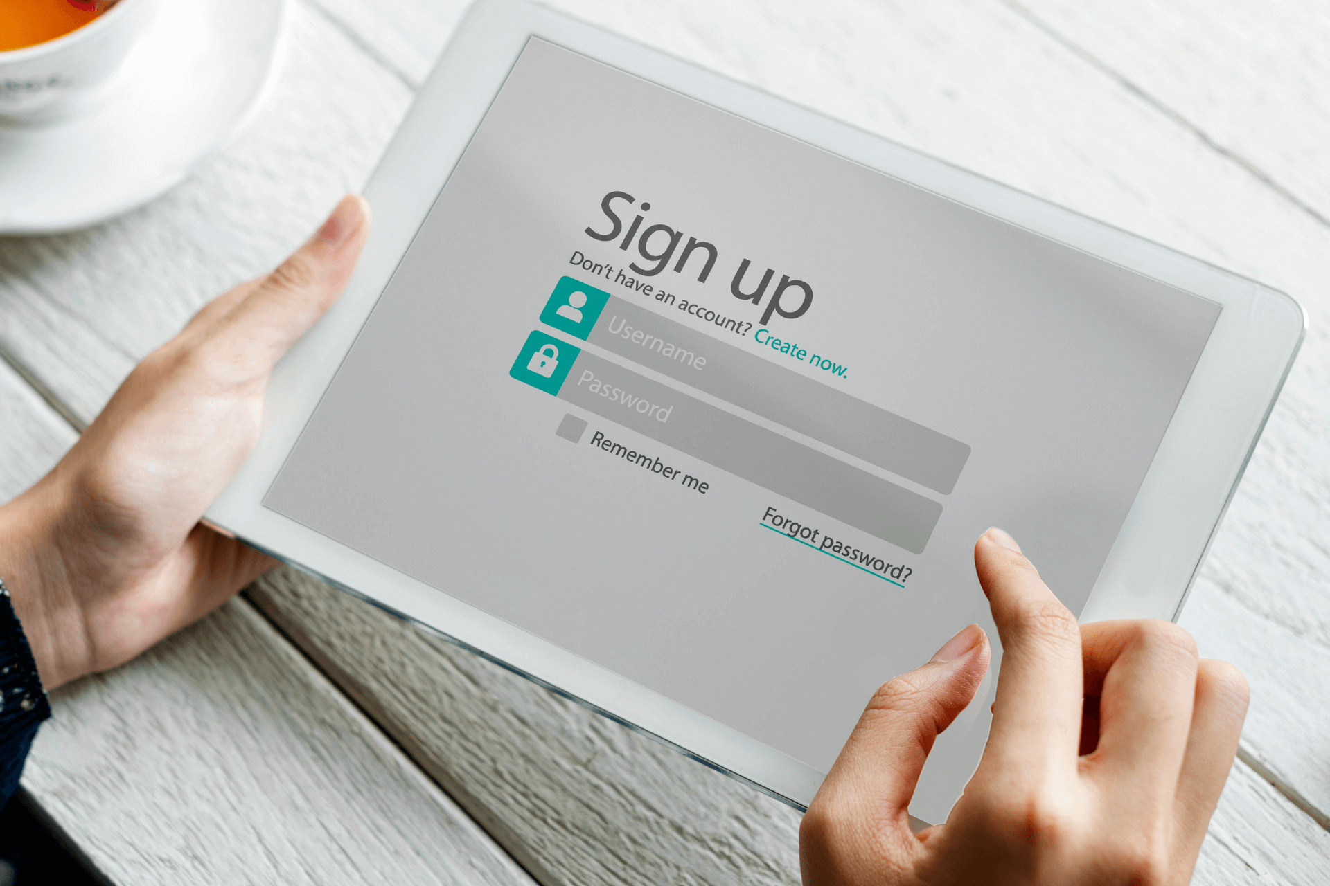 This image shows a sign up screen for a nonprofit membership program