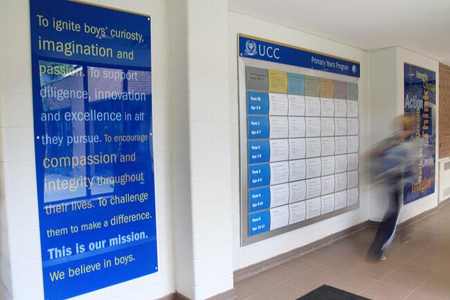 UCC Signage