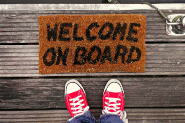 welcome new donors on board